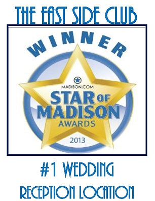 Badge honoring the East Side Club for winning the 2013 Star of Madison award